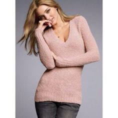Victoria Secret winter top Warm and fuzzy top - perfect for fall and winter. only used twice Victoria's Secret Tops