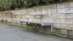 Urban-Form-Wall-Mount-Bench Wall Bench, Wall Seating, Outdoor Furniture, Outdoor Decor, Benches, Wall Mount, Urban, Home Decor, Banks