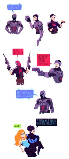 Arkham Knight Jason Todd channels some serious Kylo Ren.