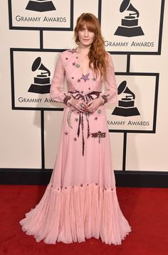 Florence Welch in Gucci   - HarpersBAZAAR.co.uk
