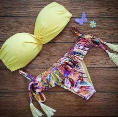 "Item Type: bikini Material: Polyester Pattern: Printing Waist: Low Waist Style: Sexy Size: XS (US size) Bust: 31-33 "", Waist: 23-25"", Hips: 33-35 "" S (US size) Bust: 33-35 "", Waist: 25-27"", Hips: 35-3"