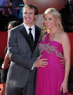 New Orleans Saints quarterback Drew Brees, 33, and wife Brittany are expecting their third child together.