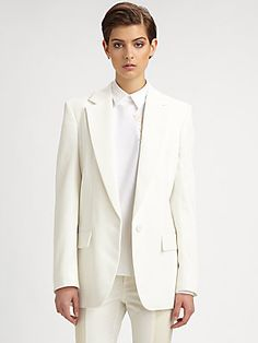 Stella McCartney Textured Suiting Jacket