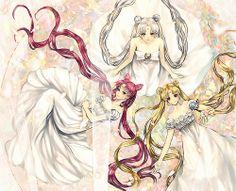 Three generations - girlsbydaylight: [ Sailor Dream ] by HANa on pixiv