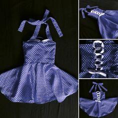 rockabilly girl & baby dress  pin up girl dress by ManzaroKids