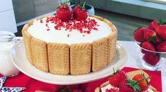 Master Frances Quinn's strawberry shortcake bake