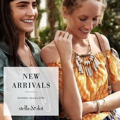 Available soon! #stelladotstyle