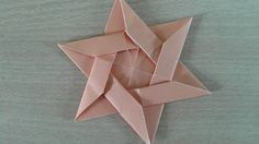 How to make an Origami Star of David. easy - YouTube