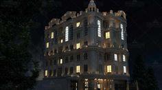نما در شب ساختمان مسکونی روسپینا International Real Estate, Multi Story Building