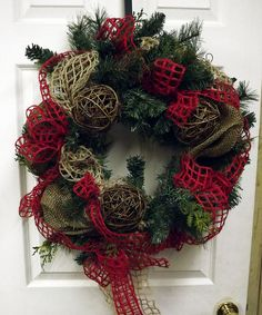 Rustic Christmas Wreath | Flickr - Photo Sharing!