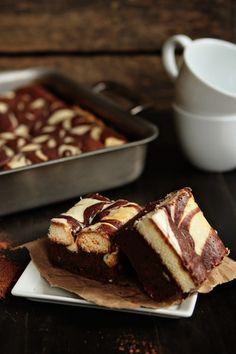 Tiramisu brownies from My Baking Addiction