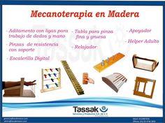 Mañana no te pierdas nuestra súper promoción, del Paquete de Mecanoterapia en Madera, consulta nuestra página de Facebook: Tassak Rehabilitación, para mayores informes: tassakpys@gmail.com