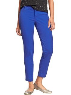 Women's The Pixie Stretch-Twill Pants Product Image Back to school