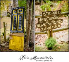 Hightower Falls Wedding Paris Mountain Photography wedding decor wedding details