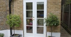 Looking for wooden French doors in London? We produce and install fully finished doors in and around the London area. Single French Door, Double French Doors, French Windows, French Doors Patio, Patio Doors, Interior Window Trim, Double Doors Interior, Interior Barn Doors, Single Patio Door