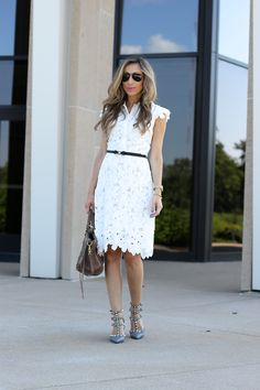 Perfect little white dress