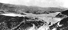 Los Angeles dam that failed in 1928.