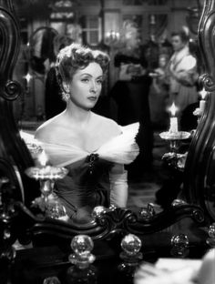 "Danielle Darrieux in ""Madame de..."" (1953) (France) Director: Max Ophüls."
