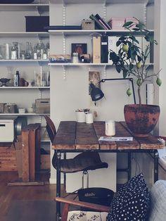 scandinavian interior, office, unelmien työhuone, työhuoneen sisustus, home office
