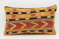Natural Lumbar Kilim Pillow Cover 14 x 24 Bolster Pillow Bohemian Pillow Linen Pillow Desinger Pillow Message Pillow Modern Pillow by kilimwarehouse on Etsy Rustic Pillows, Modern Pillows, Bohemian Pillows, Diy Pillows, Linen Pillows, Kilim Pillows, Decorative Pillows, Throw Pillows, Handmade Pillow Covers