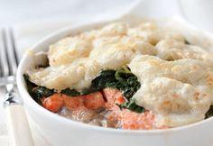 Gratin de saumon et de pommes de terre - Coup de pouce