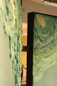 Ocean Waves (art installation) via The Curated House
