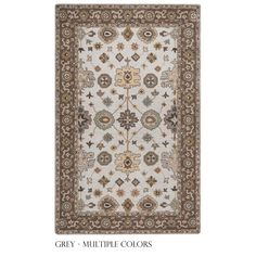 Rizzy Home Valintino Collection / Rust Area Rug