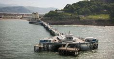 Llandudno Pier in Clwyd fantastic views no matter which way you look. Seaside, Attraction, Boat, Dinghy, Boats