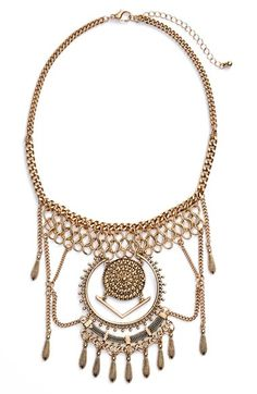 BP.+Dreamcatcher+Statement+Necklace+available+at+#Nordstrom
