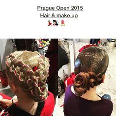 Hair & make up by Natali Ermakova  #hair #hairstyle #makeup #dance #dancesport #макияж #прически #wdsf #ballroom #latin #standart #ballroomdance #dancer #nice #like #love #best #girl #girls #dancing