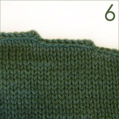 How To Avoid This Steps In A Staircase Look. Learn to bind off a more evenly shaped shaped edge for sweater shoulders.