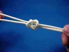 Two Strand Footrope Knot for zipper pulls or short lanyards!  Tutorial on EDC Forums.