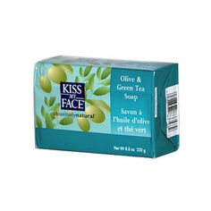 Kiss My Face Bar Soap Olive and Green Tea - 8 oz - Kiss My Face Bar Soap Olive…