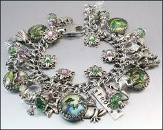 The cutest frog bracelet!