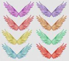 ghép ảnh, Cánh đẹp, PSD, download, wing