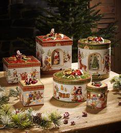 Villeroy & Boch Christmas Toys Gift Waxinelichthouders: Deze waxinelichthouders lijken net prachtige kerstgeschenken. #sfeerlicht #kaarsen #kerstdecoratie
