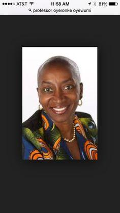Prof. Oyeronke Oyewumi