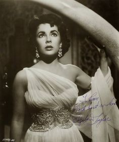 """Elizabeth Taylor in """"Elephant Walk"""" (1954)"""