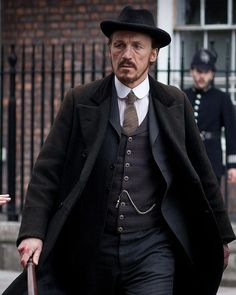 Jerome Flynn as Detective-Sergeant Bennet Drake, later promoted to Detective-Inspector - on 'Ripper Street'
