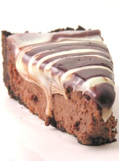 Triple Chocolate Cheesecake #food #yummy #delicious