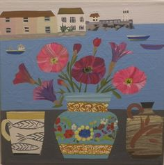 Petunias in St Ives | Emma Williams