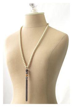 Stella and Dot Tassel Necklace | Stella Dot Revival Tassel Necklace