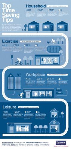 Top Time Saving Tips Infographic