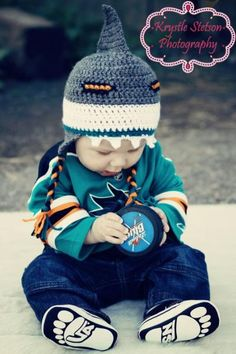 San Jose Sharks Hat - Lemonade Couture
