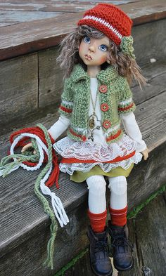 fall2  - doll by Kaye Wiggs