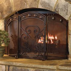 1000 Images About Ranch Fireplace On Pinterest