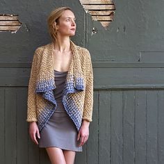 NobleKnits.com - Imperial Anna Color Flow Cardigan Knitting Pattern, $9.95 (http://www.nobleknits.com/imperial-anna-color-flow-cardigan-knitting-pattern/?utm_source=NobleKnits Yarn Shop