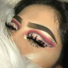 just fucking fllw me Makeup On Fleek, Glam Makeup, Pretty Makeup, Love Makeup, Simple Makeup, Makeup Inspo, Makeup Art, Beauty Makeup, Hair Makeup