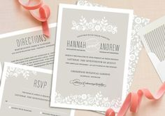 Minted wedding invitations + giveaway | Pretty Paper, Sponsored Post | 100 Layer Cake by rinkage