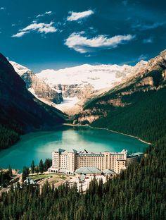 Les destinations les plus spectaculaires du monde - Parc national de Banff Canada